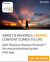 eBooks on Thomson Reuters ProView