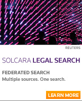 Deliver more comprehensive and consistent legal research with Solcara Legal Search