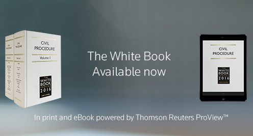 The White Book Service 2016, Available in March