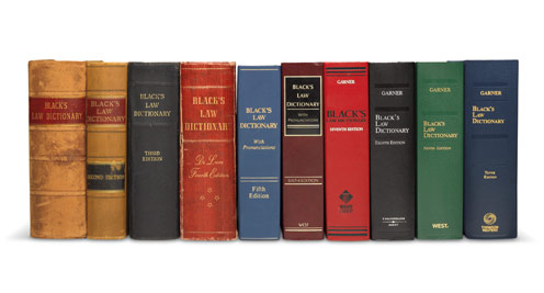 Black's Law Dictionary, New 10th edition, Defining the law since 1891