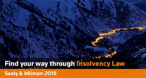 Sealy and Milman: Annotated Guide to Insolvency Legislation 2019