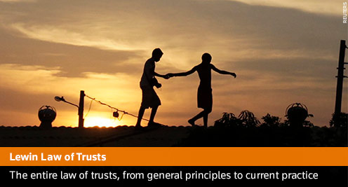 LEWIN ON TRUSTS, The Second Supplement to 19th Edition