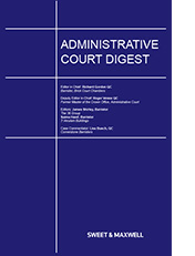 Administrative Court Digest