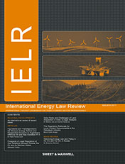 International Energy Law Review