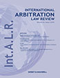 International Arbitration Law Review
