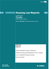 Green's Housing Law Reports