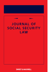 Journal of Social Security Law