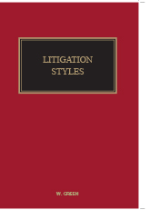 Green's Litigation Styles
