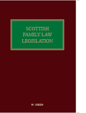Scottish Family Law Legislation