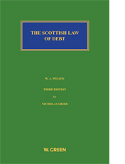 Scottish Law of Debt, The