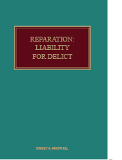 Reparation: Liability for Delict