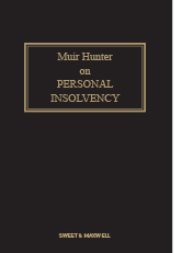 Muir Hunter on Personal Insolvency