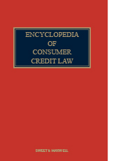Encyclopedia of Consumer Credit Law