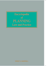 Encyclopedia of Planning Law and Practice