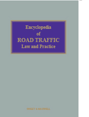 Encyclopedia of Road Traffic Law and Practice