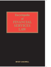 Encyclopedia of Financial Services Law