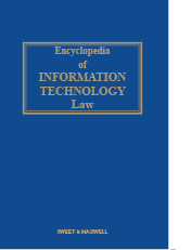 Encyclopedia of Information Technology Law