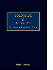 Colinvaux and Merkin's Insurance Contract Law