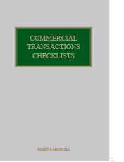 Commercial Transactions Checklists