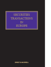 Securities Transactions in Europe