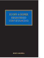 Ruoff & Roper: Registered Conveyancing