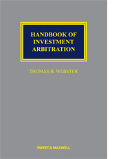 Handbook of Investment Arbitration