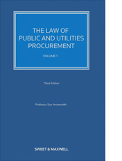 Law of Public and Utilities Procurement Volume 2, The