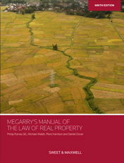 Megarry's Manual of the Law of Real Property