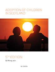 Adoption of Children in Scotland