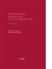 International Private Law - A Scots Perspective