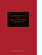 Chalmers and Guest on Bills of Exchange and Cheques