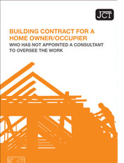 JCT Building Contract for a Home Owner/Occupier