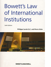 Bowett's Law of International Institutions