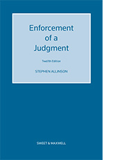 Enforcement of a Judgment