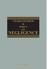 Charlesworth & Percy on Negligence