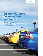 Woodroffe & Lowe's Consumer Law and Practice
