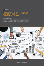 Gower: Principles of Modern Company Law