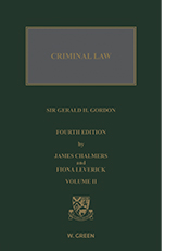 Criminal Law of Scotland, The