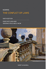 Morris: The Conflict of Laws