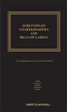 Scrutton on Charterparties and Bills of Lading