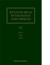 Byles on Bills of Exchange and Cheques