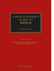 Practitioner's Guide to MiFID II, A