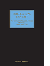 Intellectual Property: Patents, Copyrights, Trademarks & Allied Rights