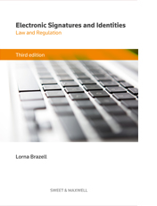 Electronic Signatures and Identities: Law and Regulation