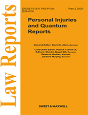 Personal Injuries and Quantum Reports