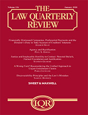 Law Quarterly Review, The