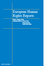 European Human Rights Reports