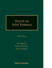 Hewitt on Joint Ventures