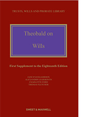 Theobald on Wills