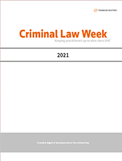 Criminal Law Week (Combined Service)